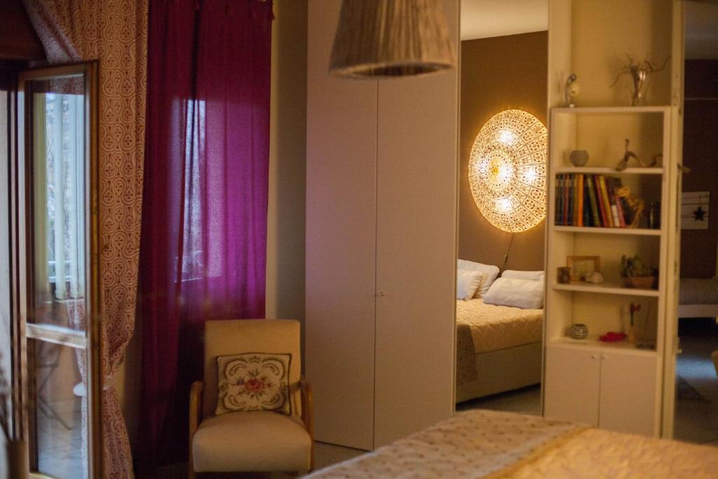 Letto o letti in una camera di Notti di luna