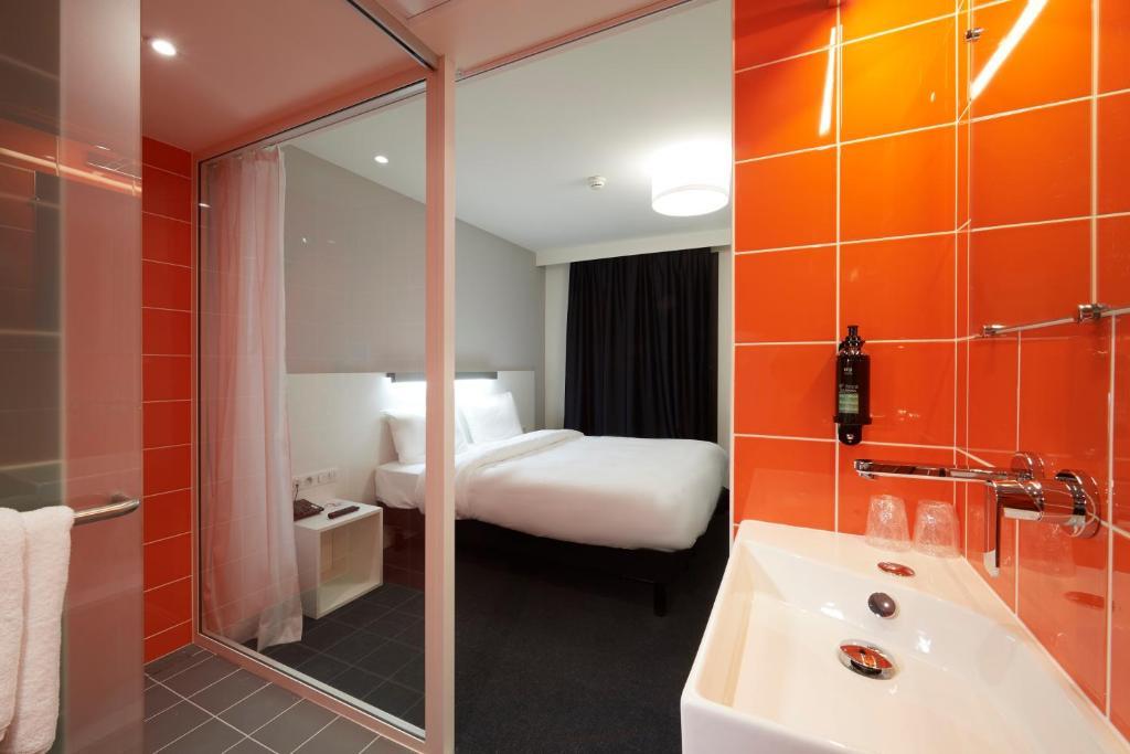Salle de bains dans l'établissement Le Nex2
