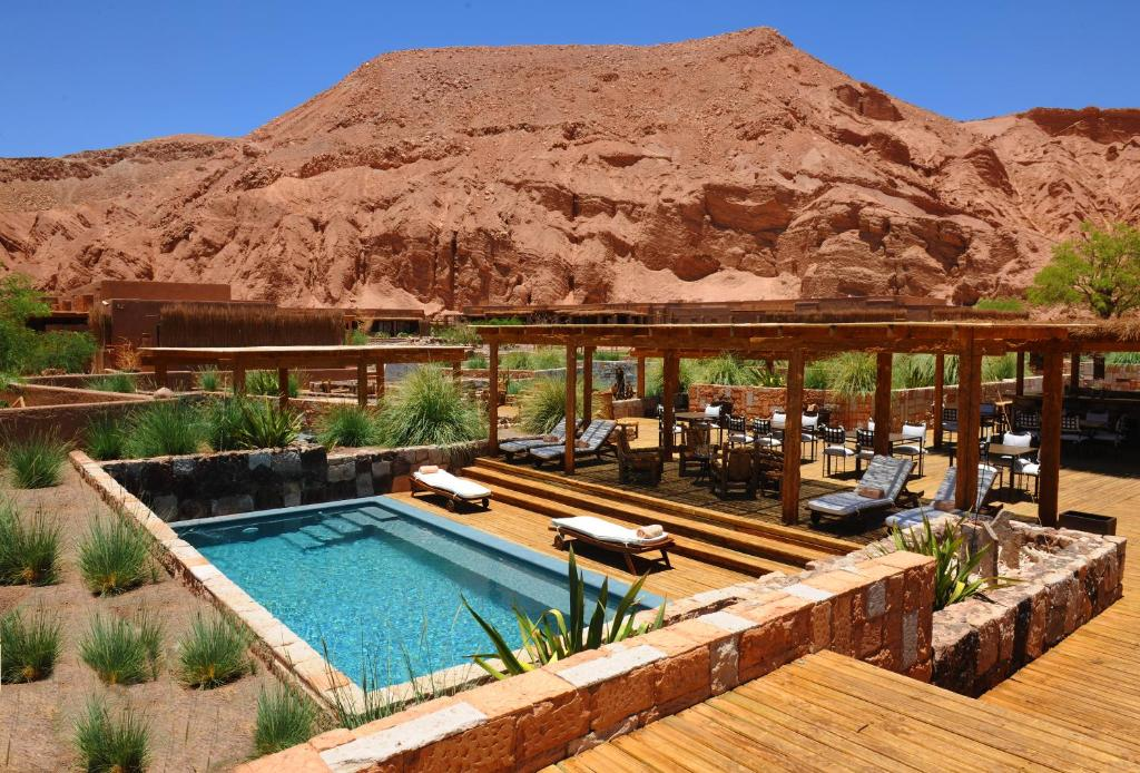 The swimming pool at or close to Alto Atacama Desert Lodge & Spa (All-inclusive)