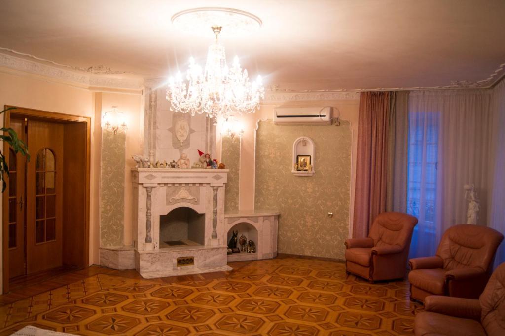 Гостиная зона в Гостевой дом Белая Невесточка