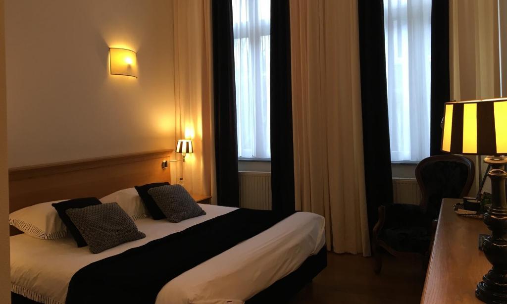 Een bed of bedden in een kamer bij Chambres D'Hotes Rekko