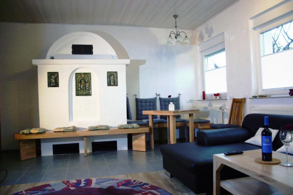 Ein Sitzbereich in der Unterkunft Apartment Kraemer Dax