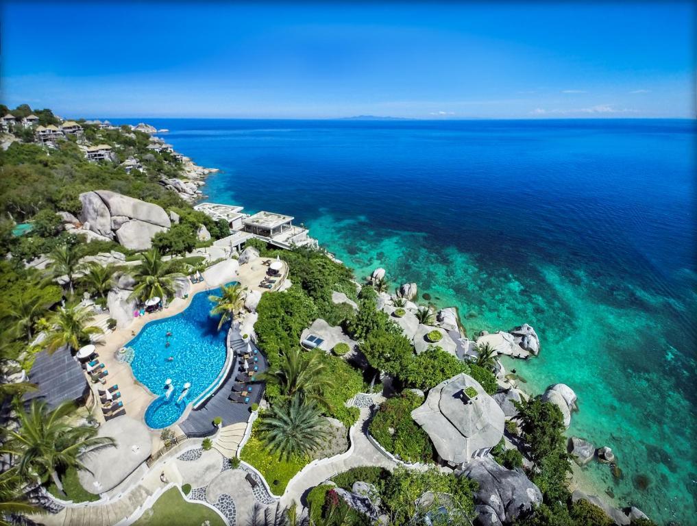 A bird's-eye view of Jamahkiri Resort & Spa