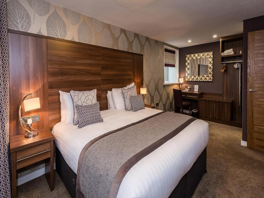 Llit o llits en una habitació de The Melbreak Country Hotel