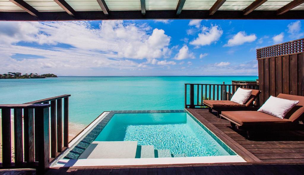 Het zwembad bij of vlak bij Cocos Hotel Antigua - All Inclusive - Adults Only
