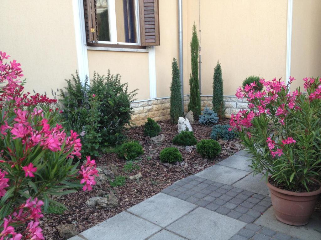 A garden outside Lavia Panzio