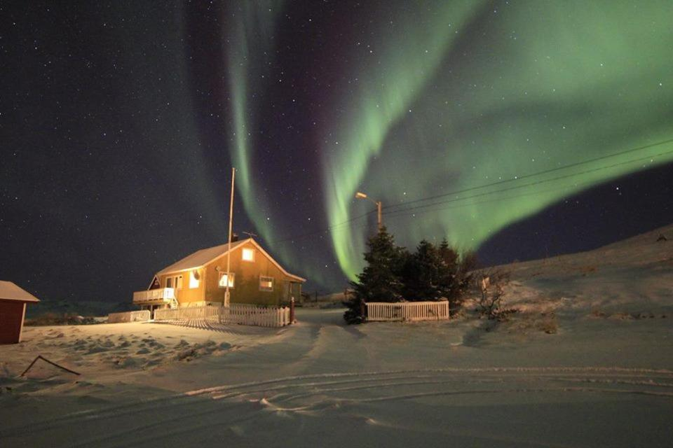 BaseCamp NorthCape during the winter