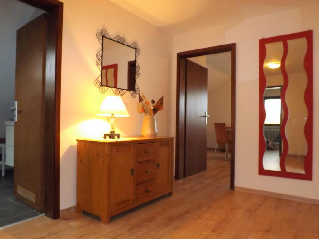 Ein Badezimmer in der Unterkunft Feriendomizil am Rheinbogen