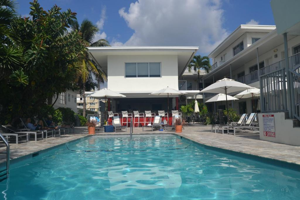 The swimming pool at or near Royal Palms Resort and Spa A North Beach Village Resort Hotel
