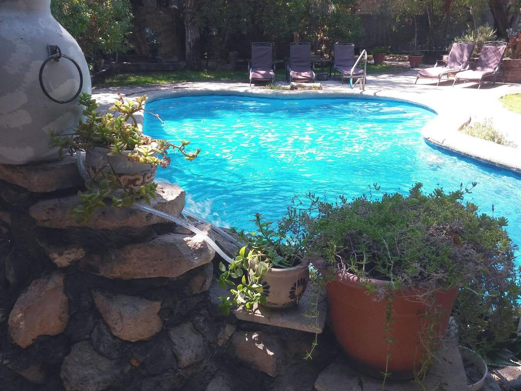 Vista de la piscina de Atankalama o alrededores