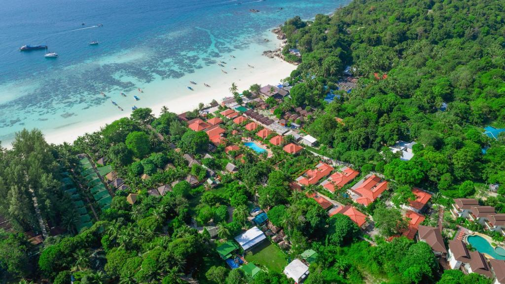 A bird's-eye view of Sita Beach Resort