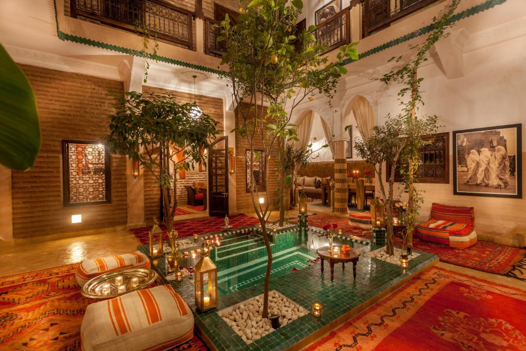 The swimming pool at or near Riad Dar Yema