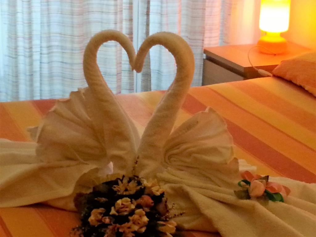 Letto o letti in una camera di Amarfia Bed & Breakfast - Your Home In Salerno