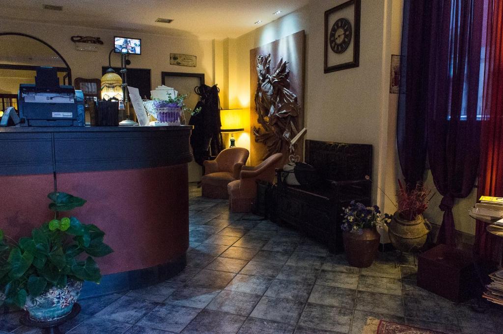 Hall o reception di Hotel Magnolia