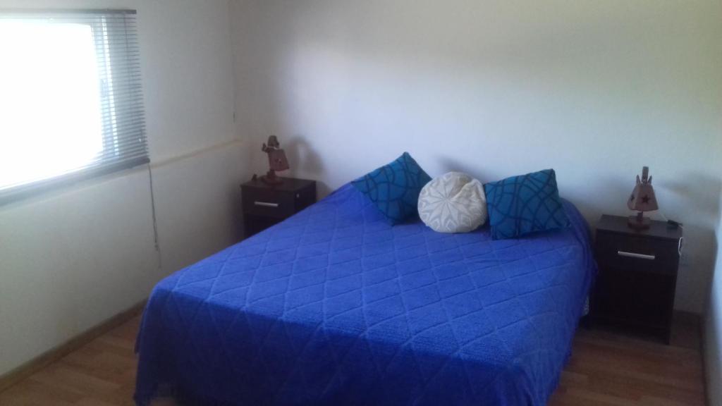 Una cama o camas en una habitación de Colon M