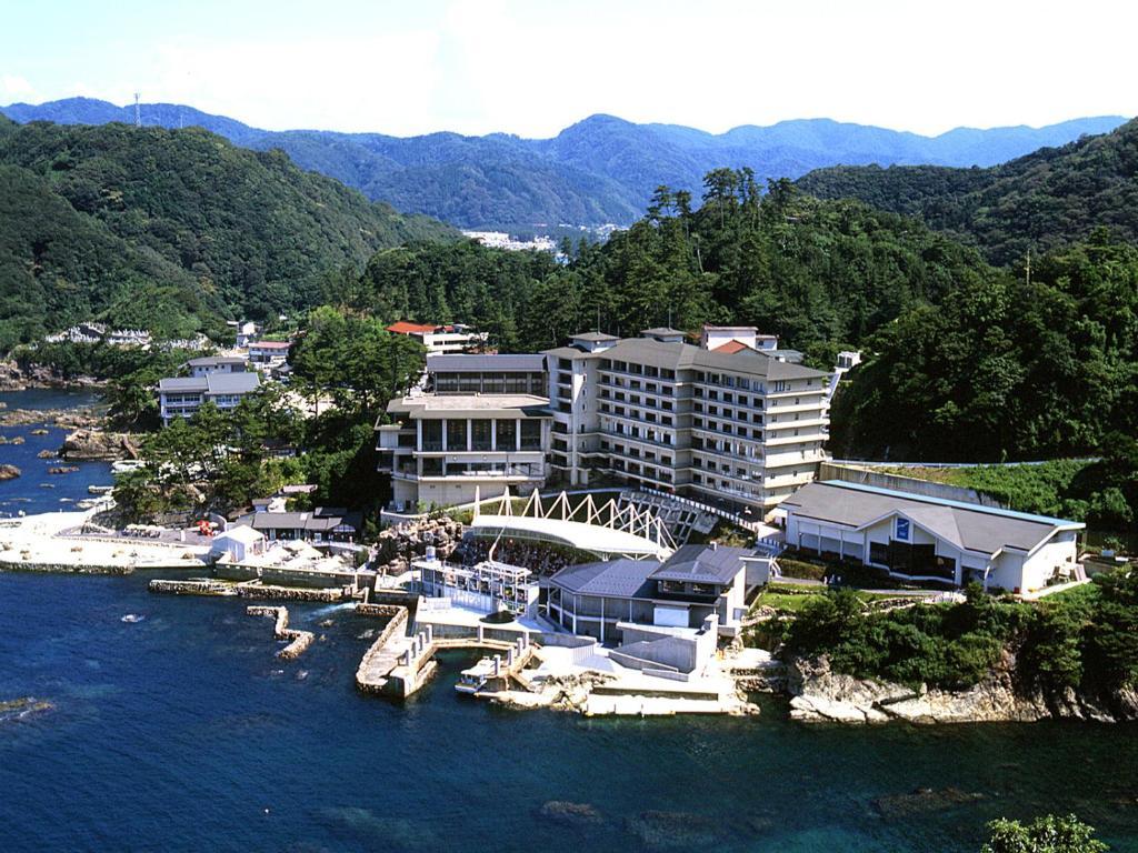 A bird's-eye view of Hotel Kinparo