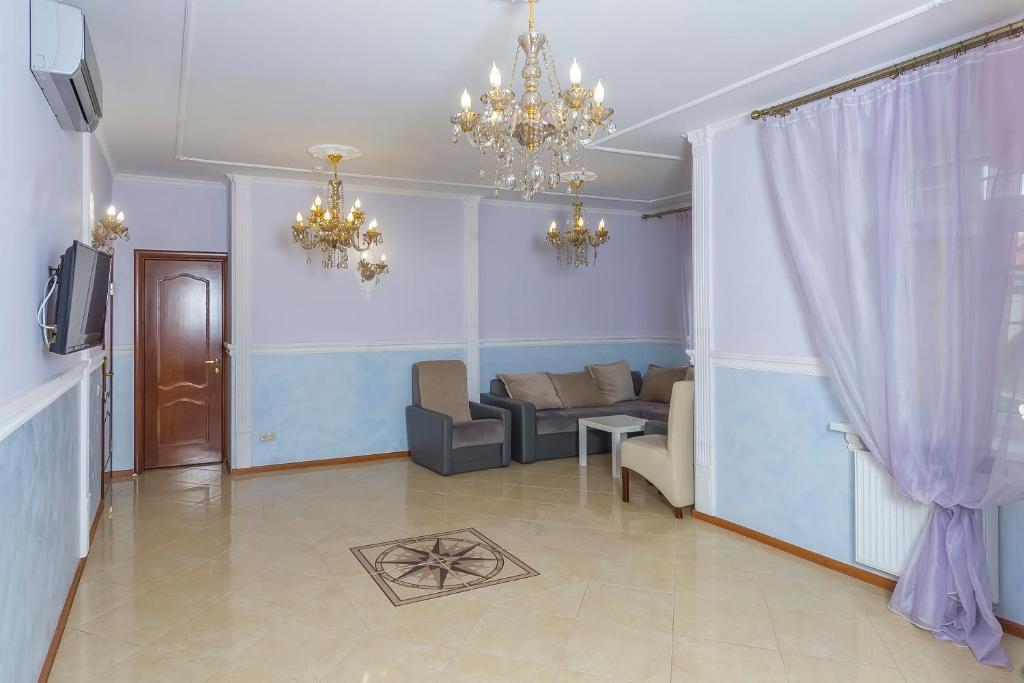 Гостиная зона в Принцесса Элиза Отель