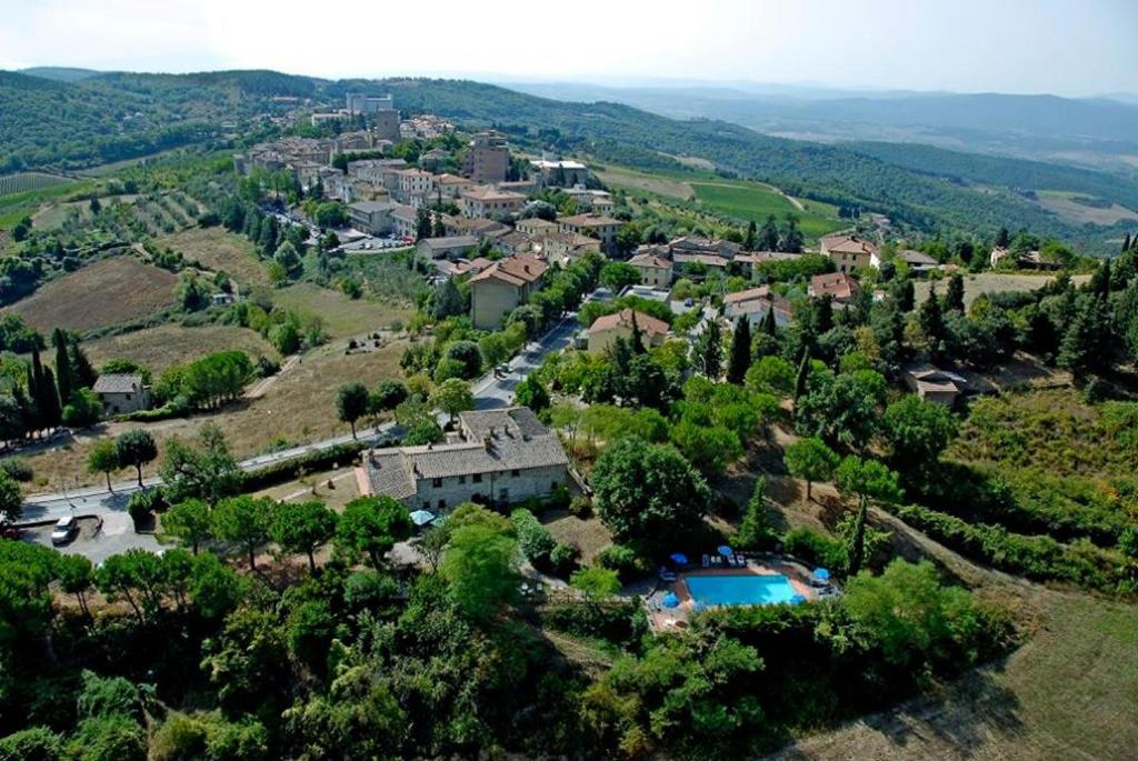 A bird's-eye view of Albergo Il Colombaio