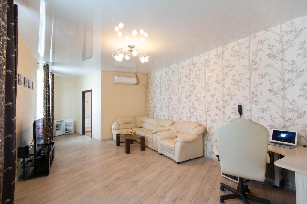 Гостиная зона в Hotel Complex Pervomayskiy