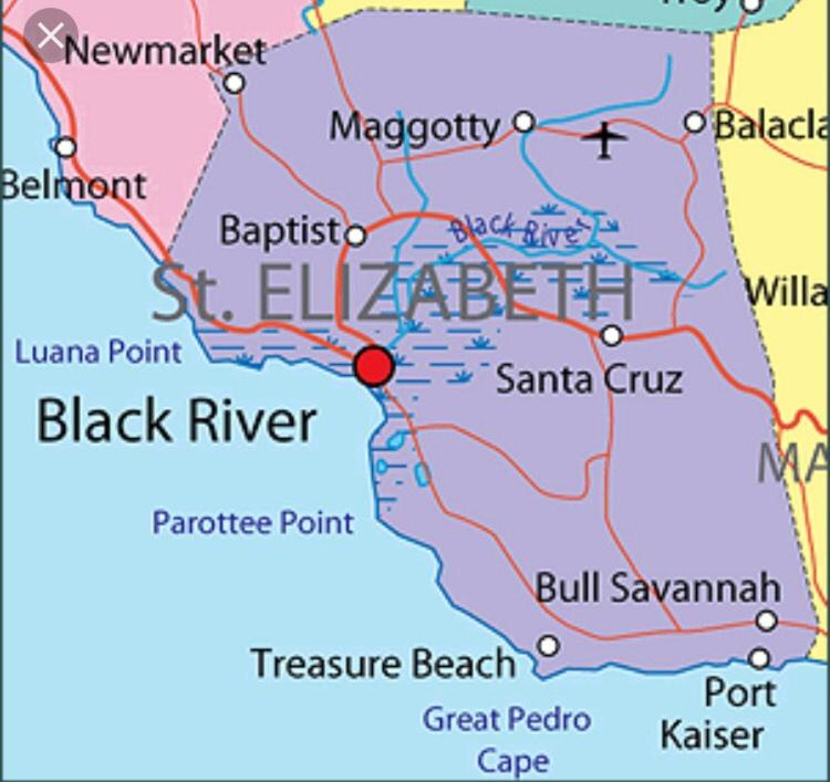 map of st elizabeth jamaica Sweet Escape The Villa Black River Updated 2020 Prices map of st elizabeth jamaica