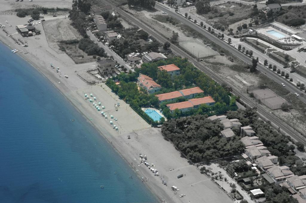 Vista aerea di Villaggio Calipso