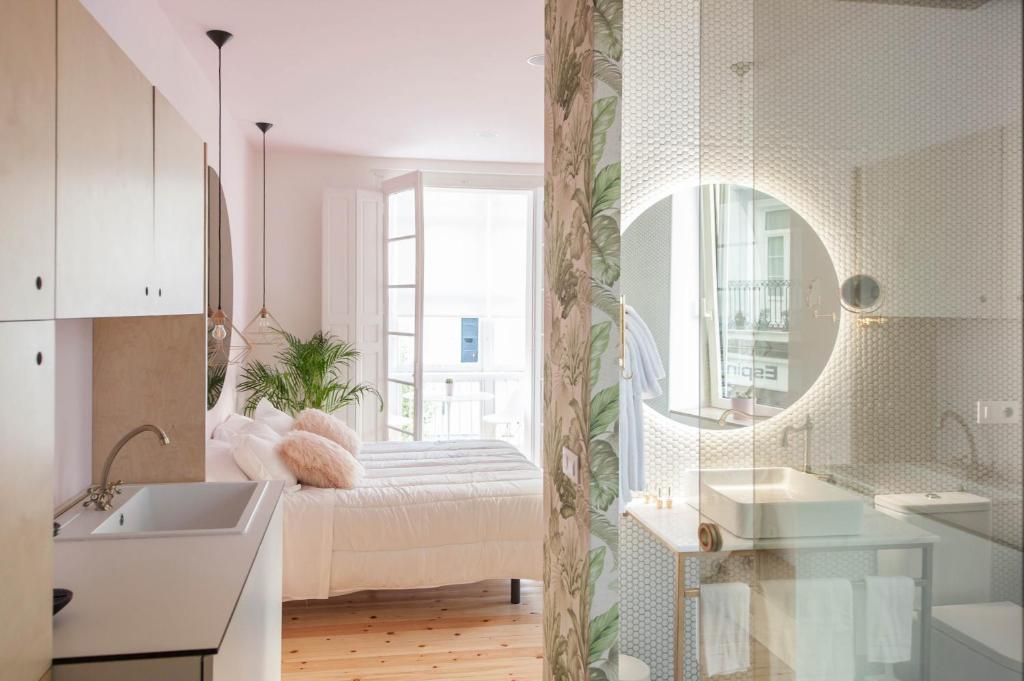 Un baño de Urban Suite Santander