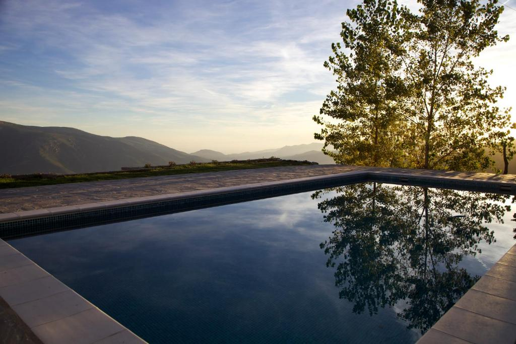The swimming pool at or near Cortijo Solera