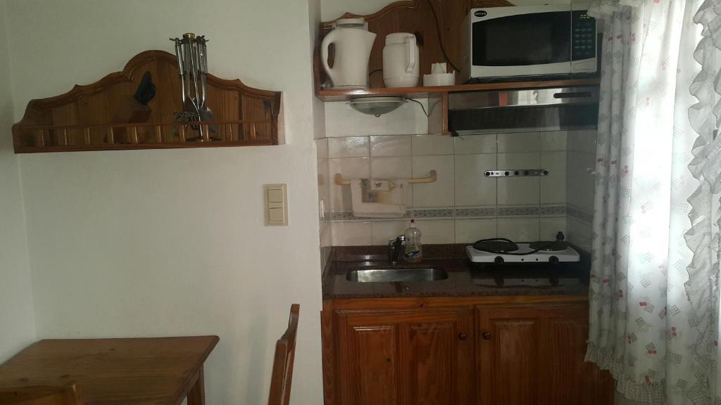 A kitchen or kitchenette at Apart Hotel Porta Westfalica