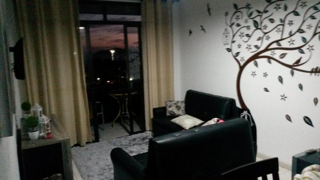 A seating area at Solar do Pernambuco