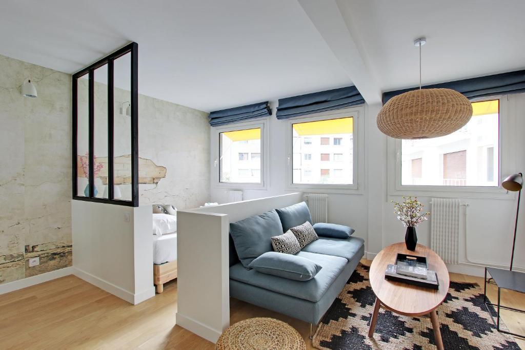Posezení v ubytování Pick a Flat - Eiffel Tower / Champs de Mars apartments