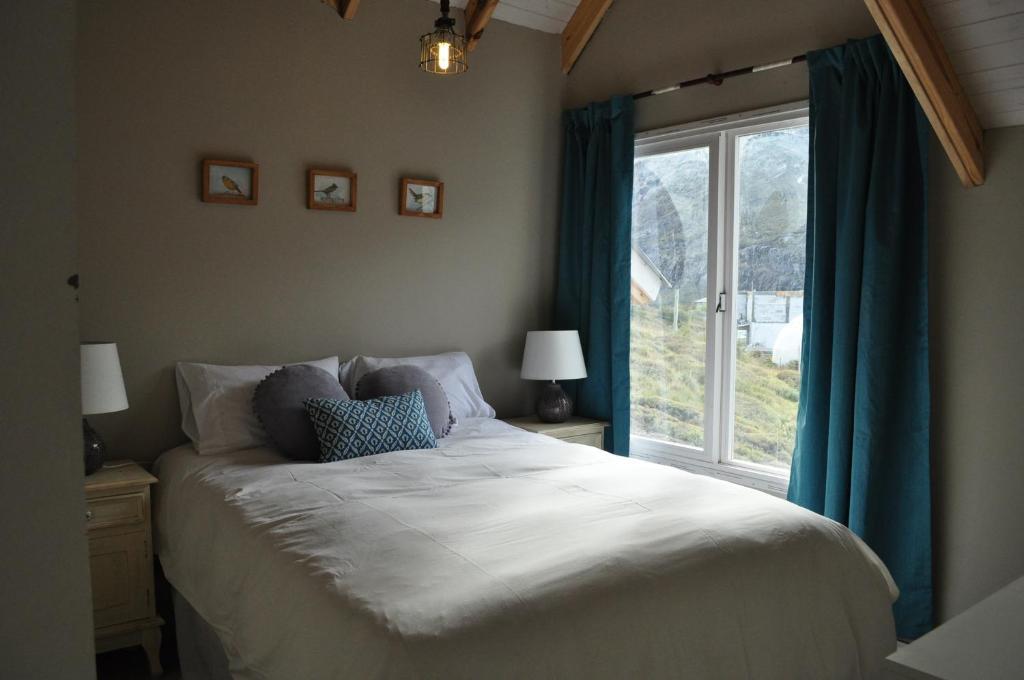 Una cama o camas en una habitación de Patagonia Hikes Aparts