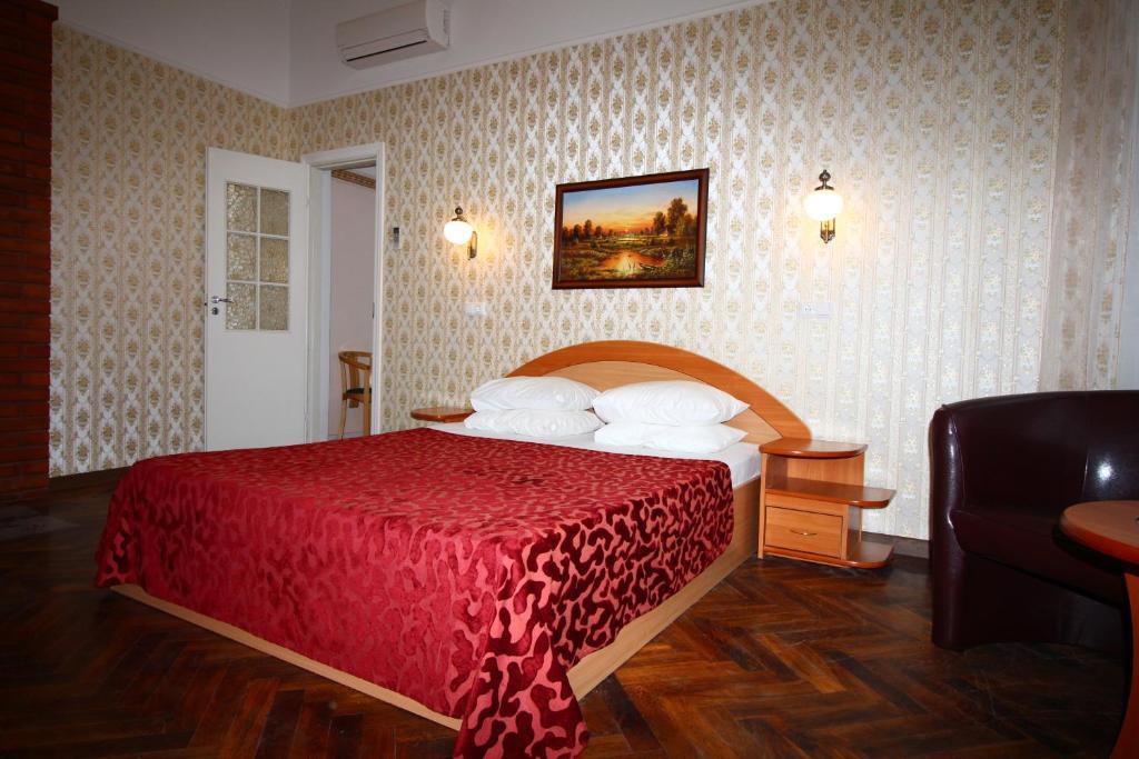 Lova arba lovos apgyvendinimo įstaigoje Green Villa