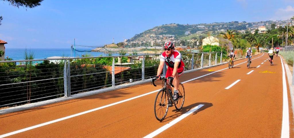 Biking at or in the surroundings of Hotel Corso