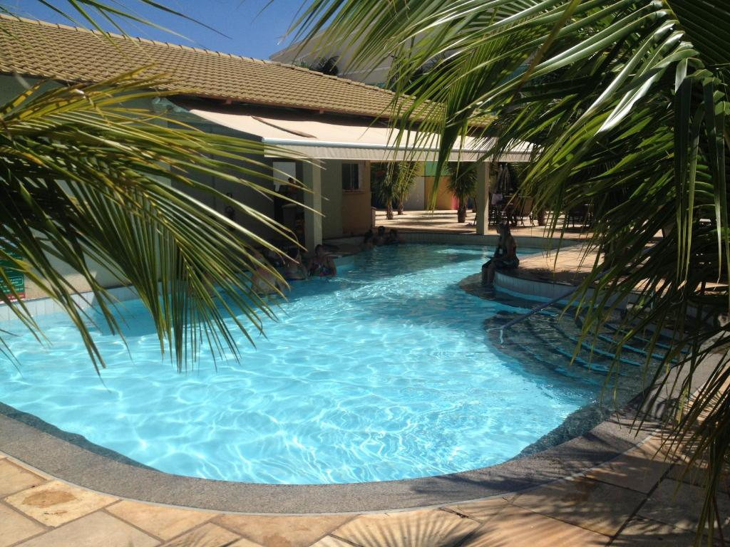 The swimming pool at or near Lacqua Diroma