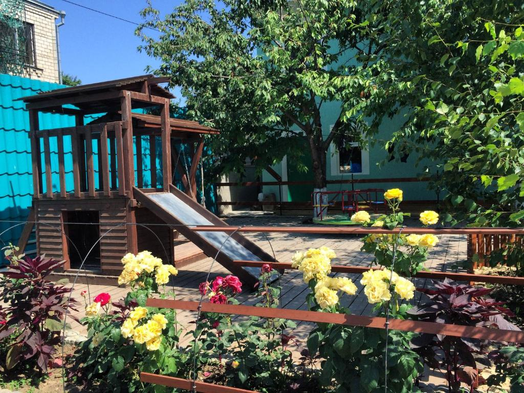 Children's play area at Guest House Belaya bereza