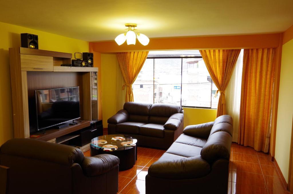 Zona de estar de Los Sauces Rent Apartment