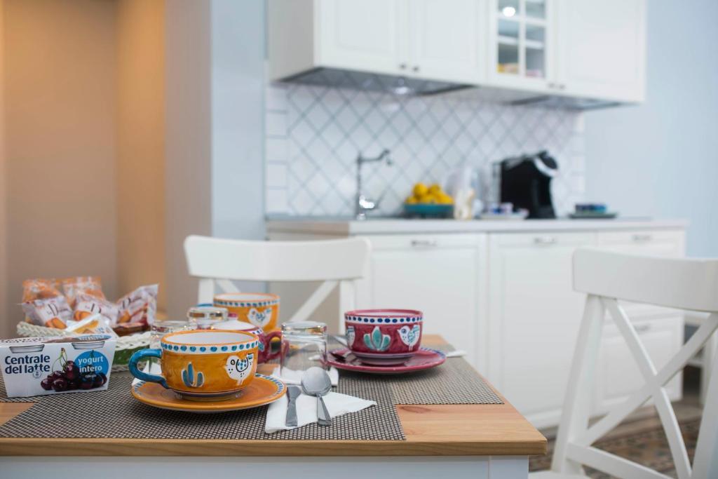 A kitchen or kitchenette at B&B Umberto
