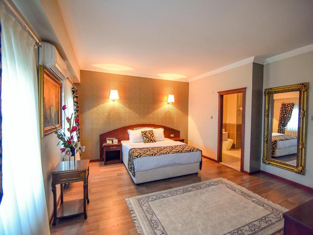 Lova arba lovos apgyvendinimo įstaigoje Saylamlar Hotel