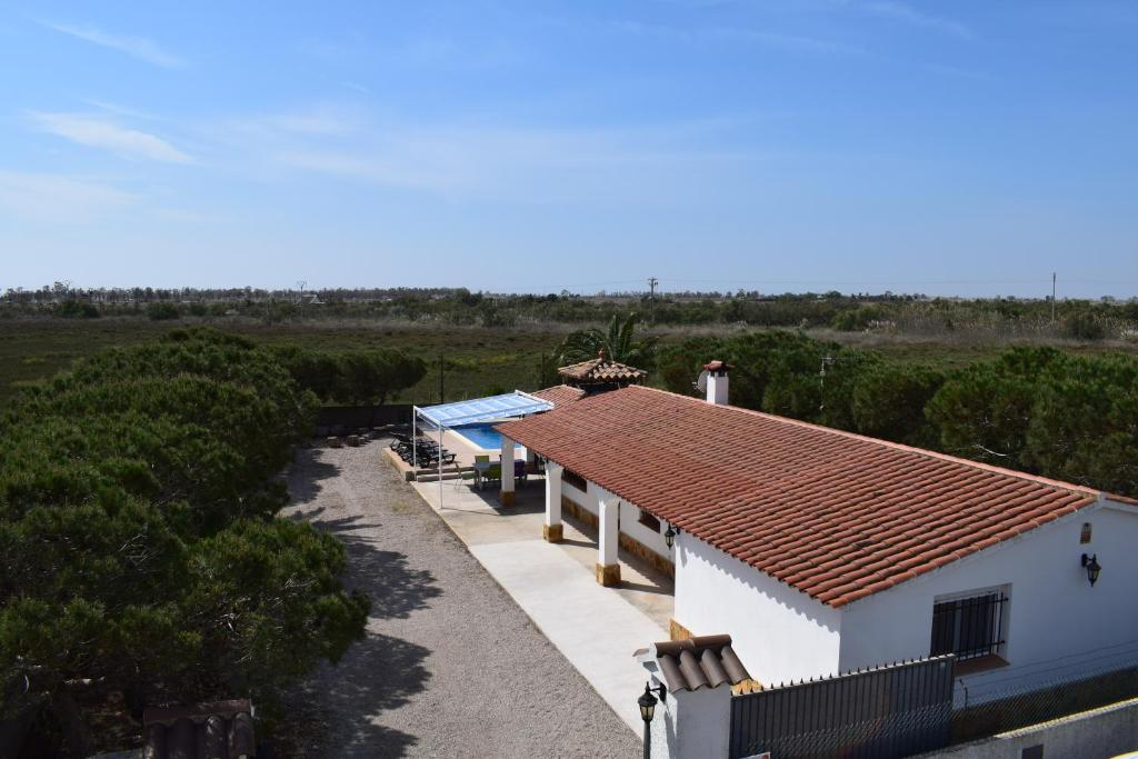 A view of the pool at La Parcela or nearby