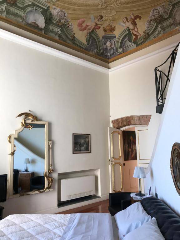 TV o dispositivi per l'intrattenimento presso B&B Palazzo Conforti