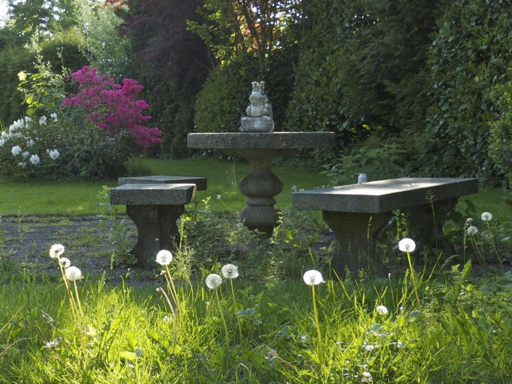 Ein Garten an der Unterkunft Villa Rana