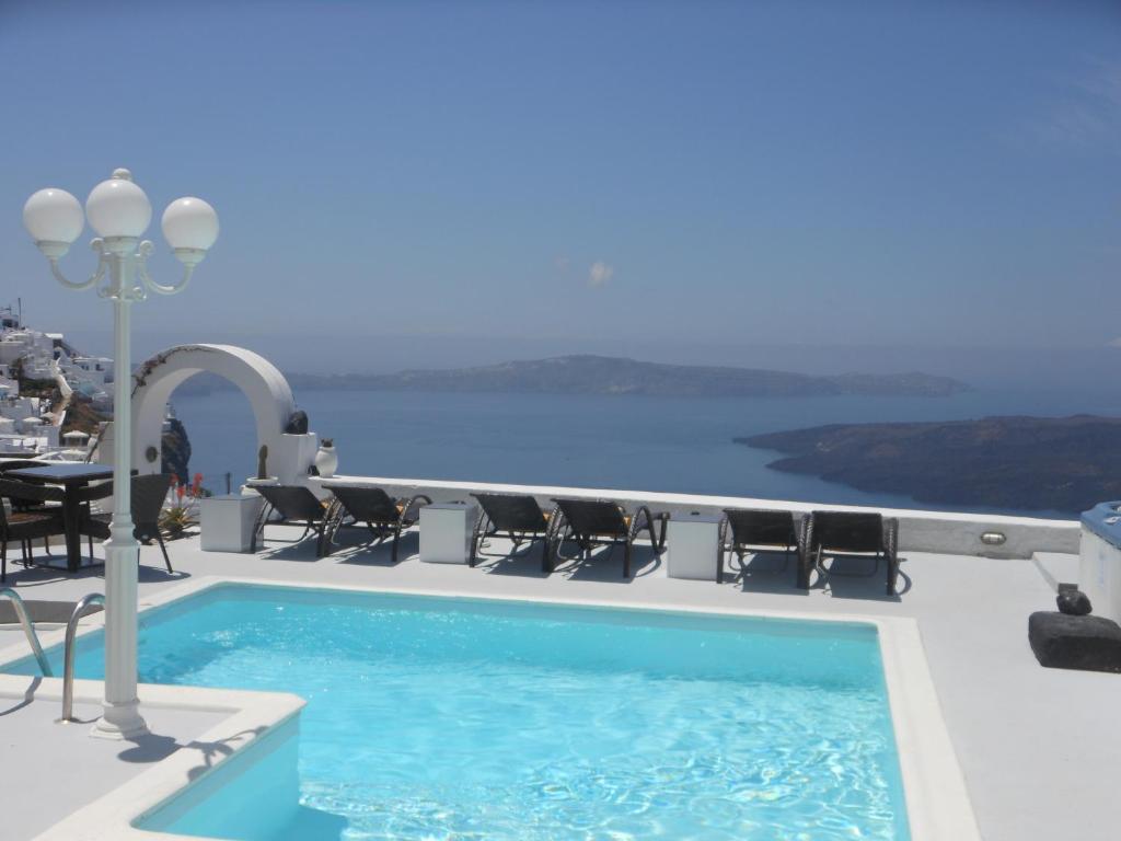 Πισίνα στο ή κοντά στο Nomikos Villas