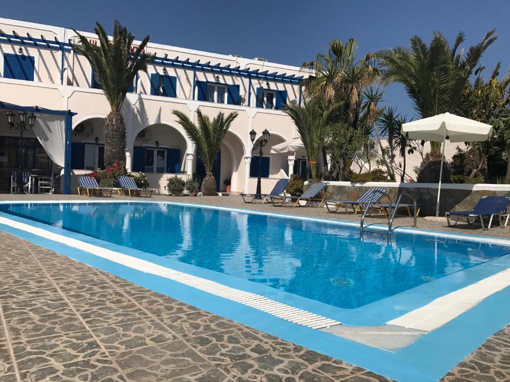 The swimming pool at or near Villa Ilios