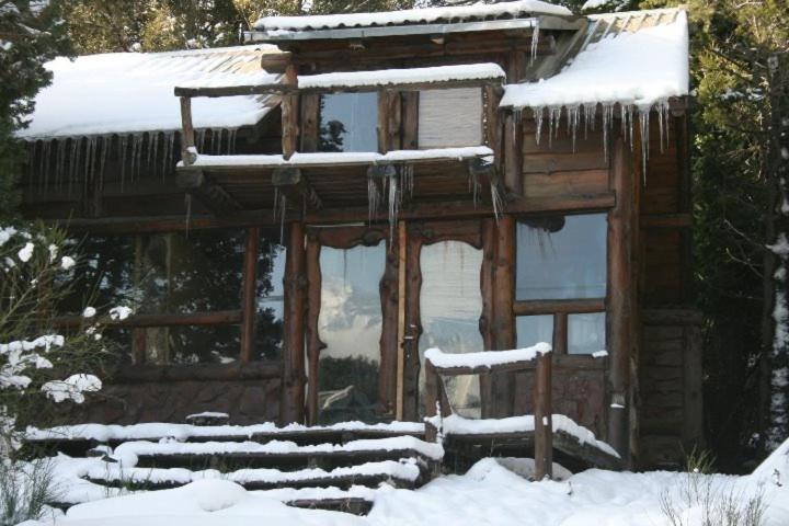 Casa de Montaña durante el invierno