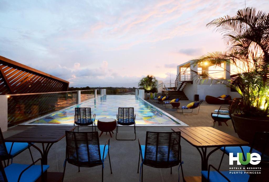 المسبح في فنادق ومنتجعات هيو بويرتو برنسيسا بإدارة إتش آي آي أو بالجوار