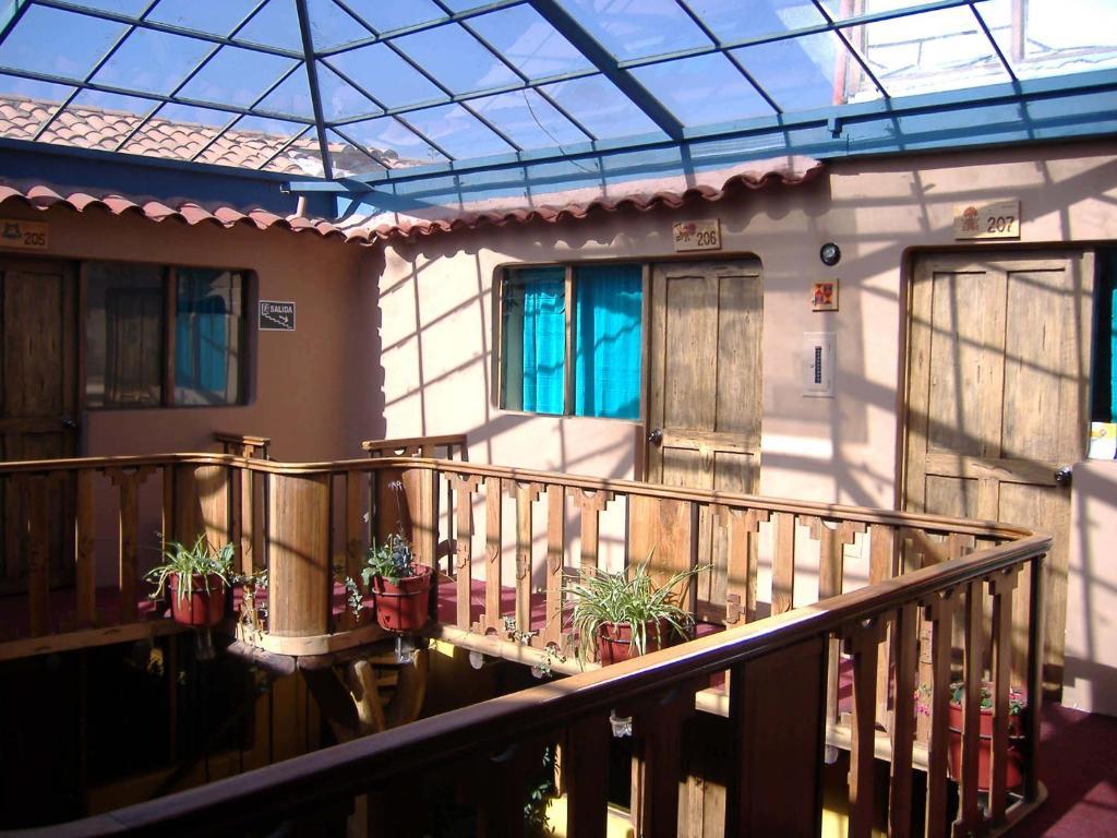 Un balcón o terraza de Hostal Teatro Inka