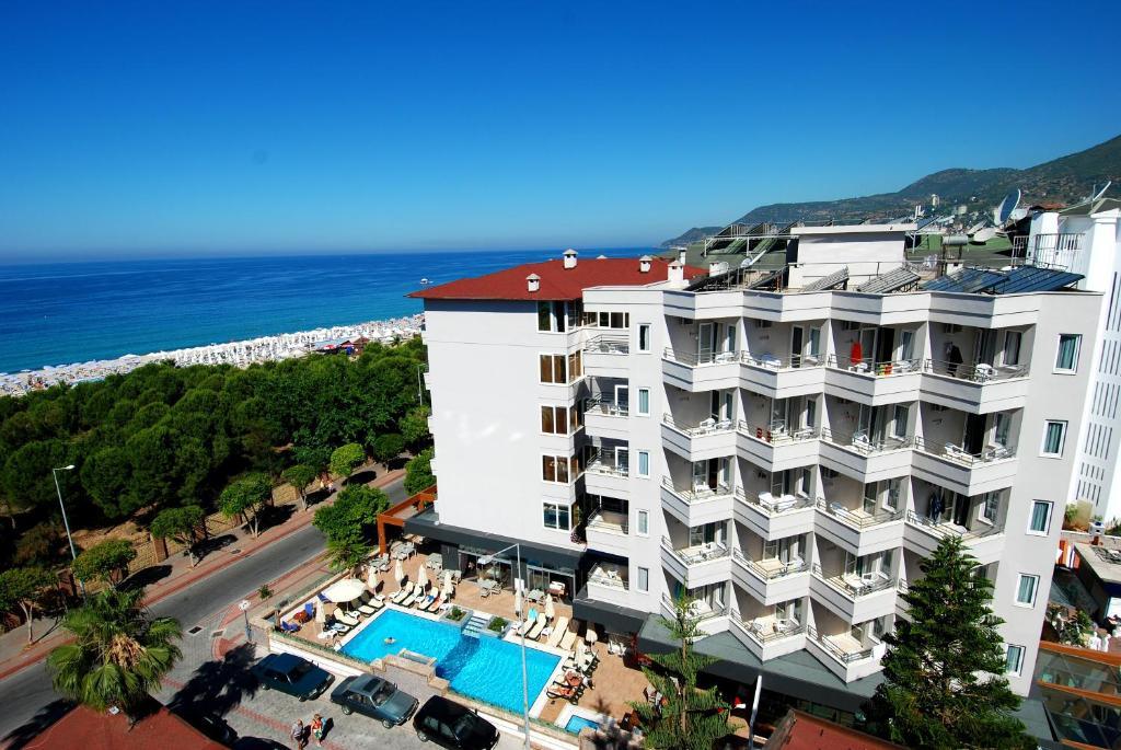 Hatipoglu Beach Hotel с высоты птичьего полета
