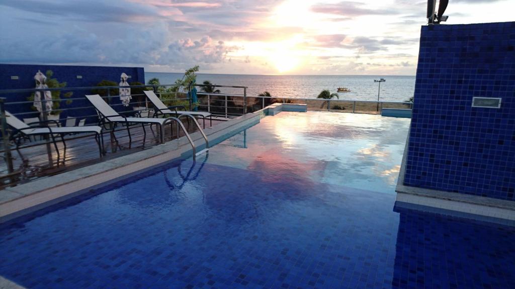 The swimming pool at or close to Apartamento Tambau a Beira Mar