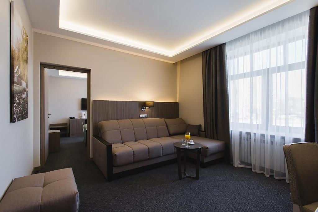 Гостиная зона в Hotel Pokrovsky