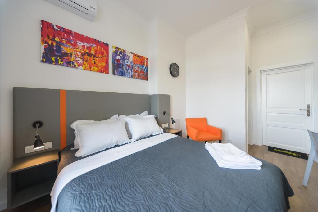 Lova arba lovos apgyvendinimo įstaigoje Partner Guest House Khreschatyk